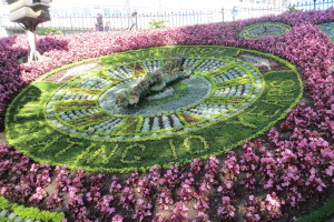 Floral Clock for Edinburgh's City of Literacy